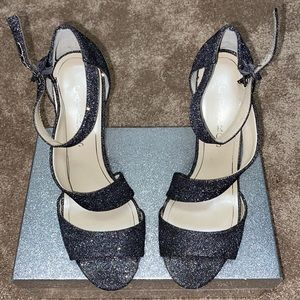 Caparros Silver Crystal High heel shoes